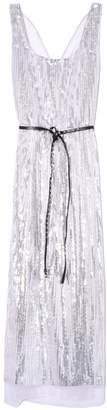 Marc Jacobs Scoop Neck Dress in Silver