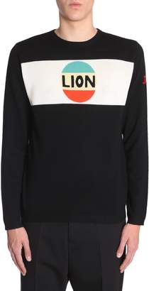 Bella Freud Sweater Lion Stripe Intarsia