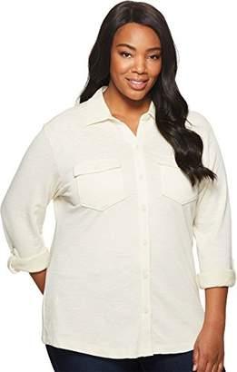 Columbia Women's Plus Sizeeasygoing Button Down Shirt Size