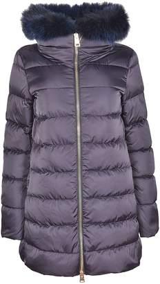 Herno Fur Trim Hooded Coat
