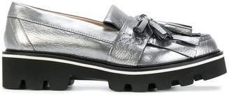 MSGM fringed loafers