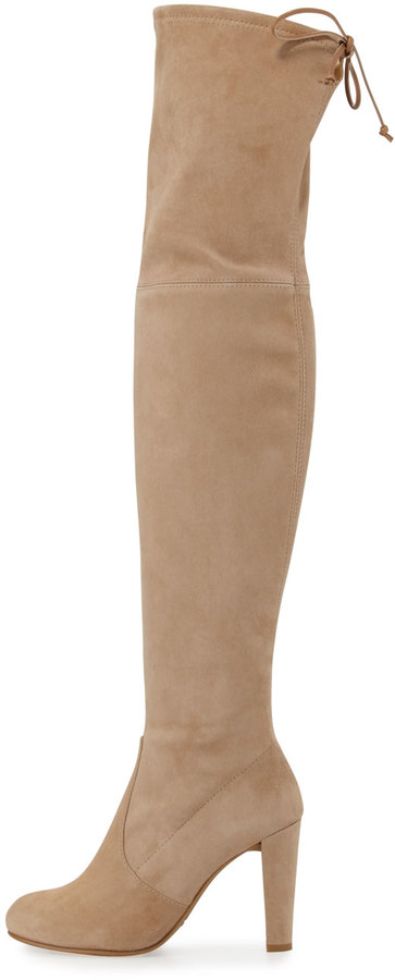 Stuart Weitzman Highland Suede Over-The-Knee Boot 5