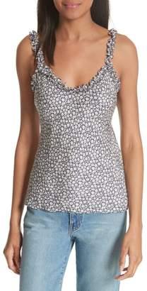 Rebecca Taylor Floral Silk Camisole