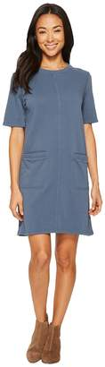 Alternative Lightweight French Terry Weathered Wash Dress Women's Dress