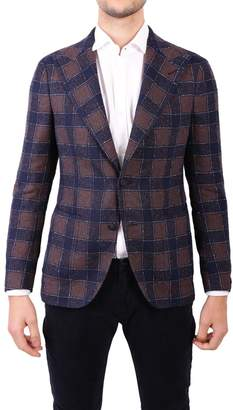 Tagliatore Linen Blend Jacket