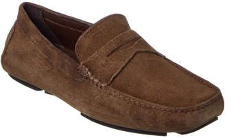 Donald J Pliner Men's Varran Suede Driving Loafer