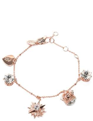 Juicy Couture Her Majesty Luxe Wishes Charm Bracelet