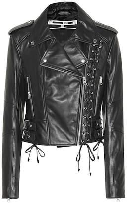 McQ Leather biker jacket