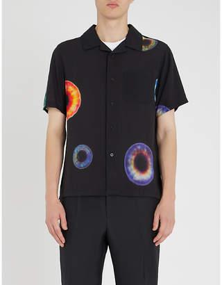 Stussy Iris-print woven shirt
