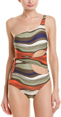 Vince Camuto Cutout One-Piece