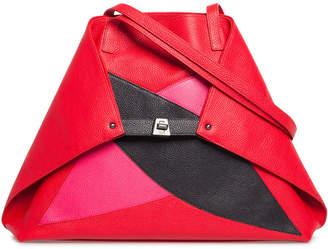 Akris Ai Medium Soft Double Diamond Shoulder Bag