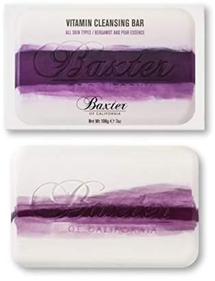 Baxter of California (バクスター オブ カリフォルニア) - Baxter OF CALIFORNIA(バクスター オブ カリフォルニア) ビタミンクレンジングバー ベルガモット&ペアー 198g