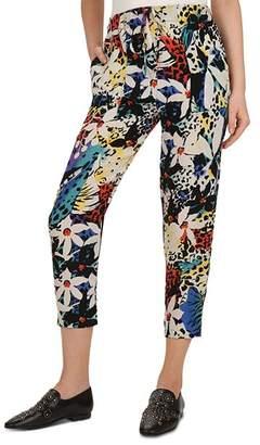 The Kooples Honolulu Printed Trousers