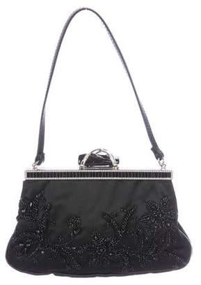 aad7aaba79 Valentino Embellished Satin Evening Bag