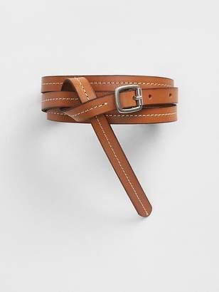 Gap Stitch Skinny Belt