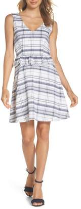 Heartloom Aubrey Plaid Fit & Flare Dress