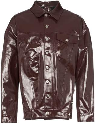 Diesel Red Tag coated button-down jacket