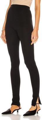 Totême Cork Pant in Black | FWRD