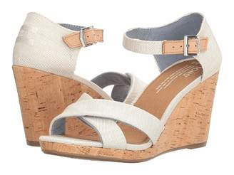 Toms Sienna Wedge Women's Wedge Shoes