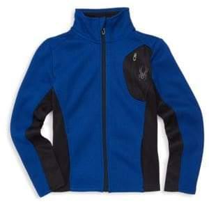 Spyder Boy's Raider Colorbock Track Jacket