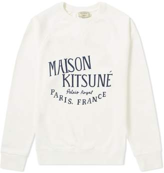 MAISON KITSUNÉ Palais Royal Crew Sweat