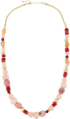 Lydell NYC Long Single-Strand Beaded Necklace