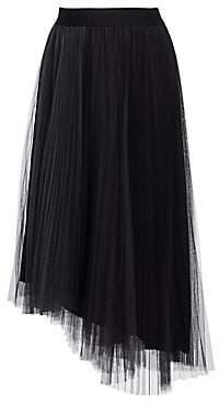 Fabiana Filippi Women's Two-Tone Tulle Midi Skirt