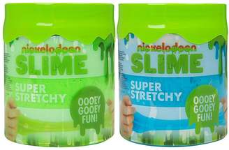 Nickelodeon Super Stretchy Slime Duo Pack – Green And Blue