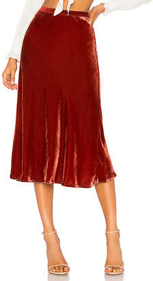 Mes Demoiselles Martina Velvet Skirt