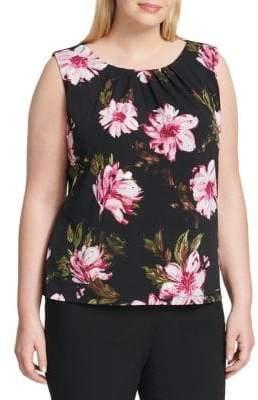 Calvin Klein Plus Floral Cami Top