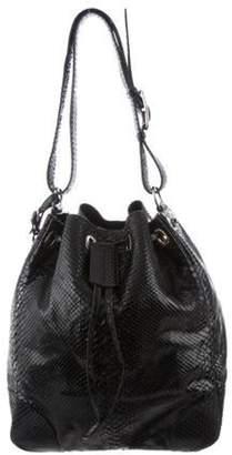 Ralph Lauren Python Hobo Bag Black Python Hobo Bag