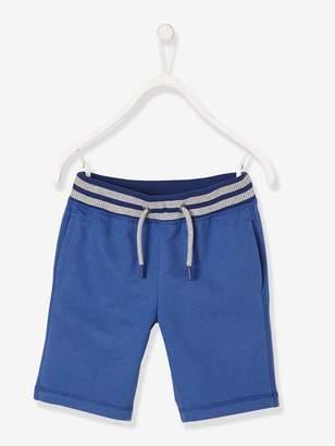 Vertbaudet Boys' Sports Bermuda Shorts, in Fleece