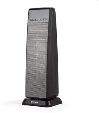 """Westinghouse 23"""" Digital Ceramic Tower Heater with Remote"""