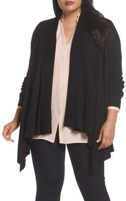 Sejour Waterfall Cardigan (Plus Size)