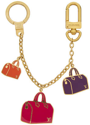 Louis Vuitton Gold-Tone & Multicolor Iconic Bag Charm