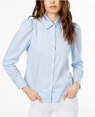 Jill Stuart Puff-Shoulder Blouse, Created for Macy's
