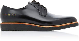 Common Projects Glossy Leather Derby Shoes