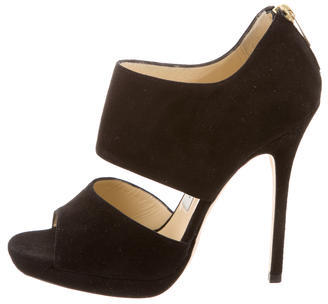 Jimmy Choo Jimmy Choo Suede Private Pumps