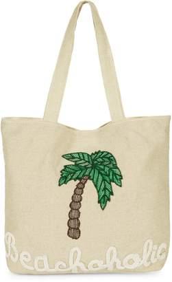 Sam Edelman Beachoholic Embroidered Tote