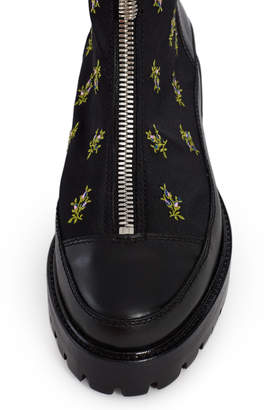 Nicole Saldaña Embroidered Chris Boot