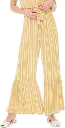 Faithfull The Brand Bisou Stripe Flare Hem Pants