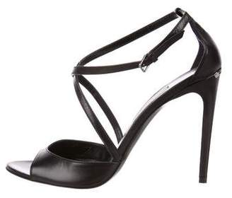 Burberry Leather Multistrap Sandals