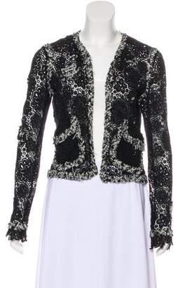 Chanel Tweed Lace Jacket