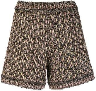 M Missoni fantasy knit shorts