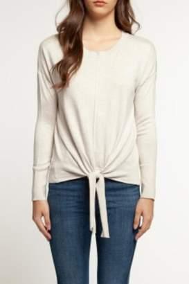 Dex Light Tie-Front Sweater