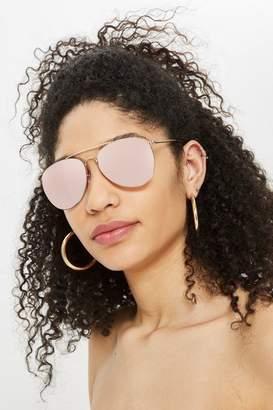 Topshop Mirror Flash Flat Lens Sunglasses