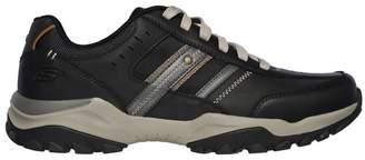 Skechers Mens Henrik Delwood Shoe - Black