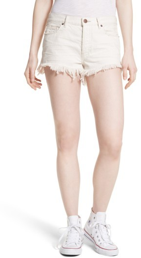 Women's Free People Cutoff Denim Shorts