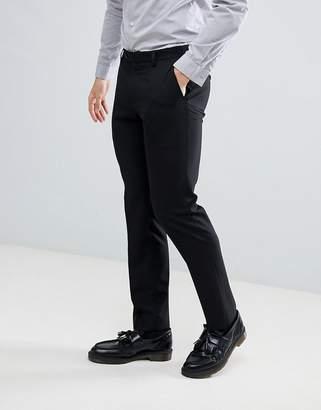 Next Slim Fit Suit Pants In Black