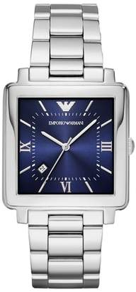 Emporio Armani Square Bracelet Watch, 43mm